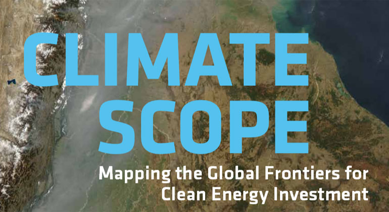 Climatescope 2014 – Global study shows clean energy activity surges in developing world