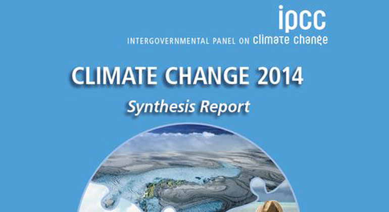 ipcc.ch | IPCC synthesis report cover