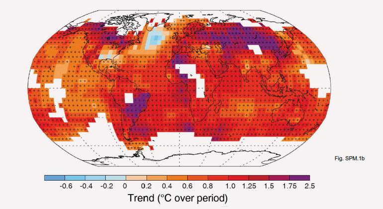 2014 bringt Europa Temperaturrekord