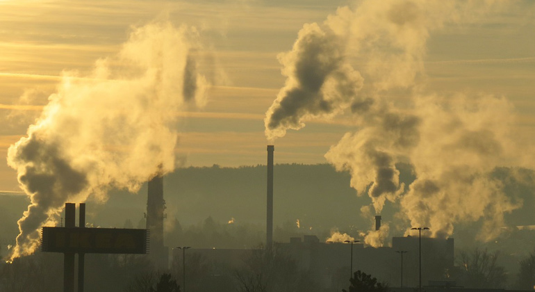 Warming reaches maximum 10 years after carbon dioxide emission