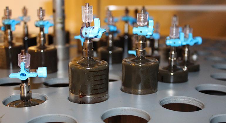 MajaWerner | ATB | Biogas-Laborversuch am ATB