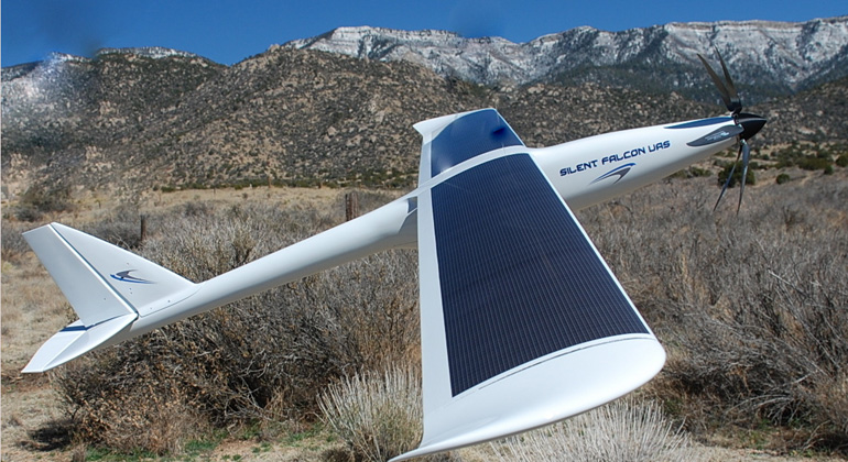 Ascent Solar Begins the Supply of Lightweight Flexible Solar Panels for the Commercially-Produced Silent Falcon™ Unmanned Aircraft