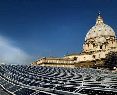 SOLARWORLD | Vatikan mit Solaranlage