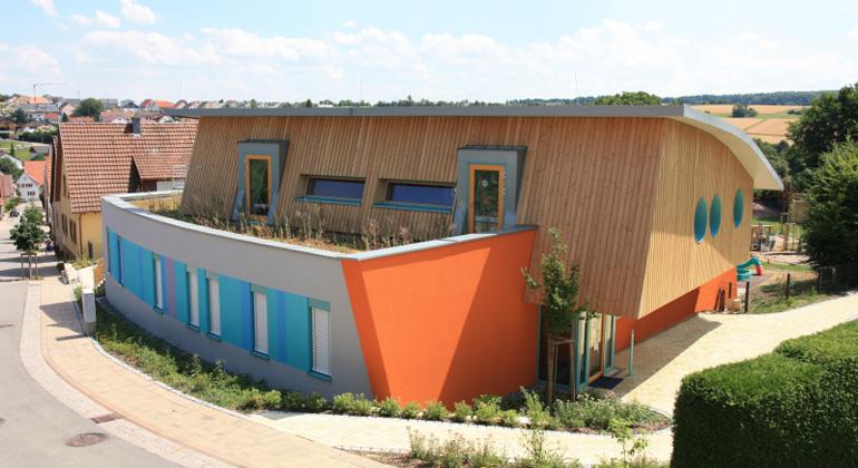 Gemeinde Wiernsheim | Kommunaler Plus-Energie Kindergarten in Wiernsheim