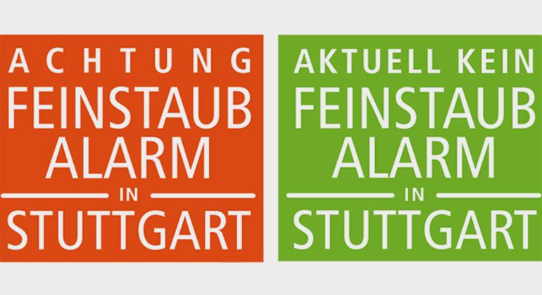 Feinstaub-Alarm in Stuttgart bei Inversionswetterlage