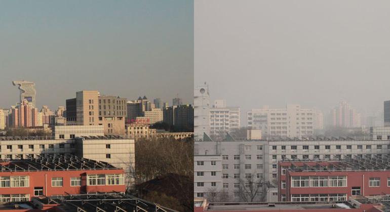 Was den Bewohnern von Peking den Atem raubt