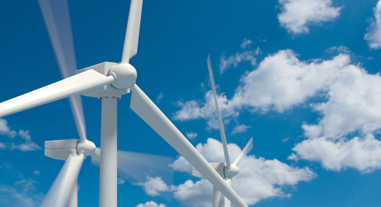 Energy from above – Wind power instead of nuclear power