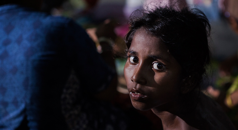 unhcr.org | Indonesia. Asylum-seekers and refugees find refuge in Aceh after being rescued by fishermen. A Rohingya child from Myanmar in a centre in Kuala Langsa, Aceh, Indonesia.