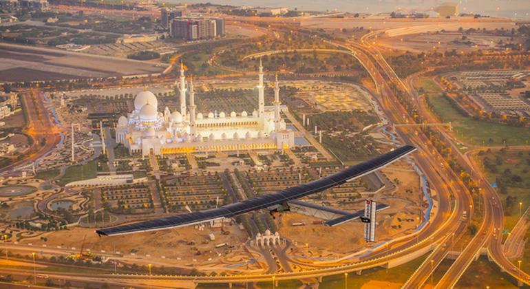 Solar Impulse   Abu Dhabi