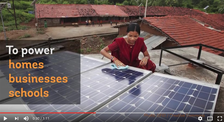 Solar Energy to Power India of the Future