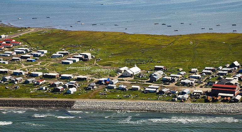 Bering Land Bridge National Preserve/Wikimedia Commons | Noch fehlt den Bürgern von Shishmaref das Geld für die Umsiedlung.
