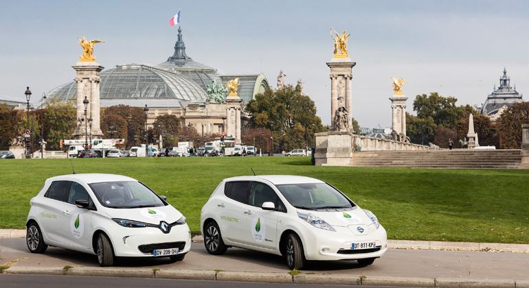 Renault-Nissan Alliance named official COP22 passenger car partner with zero-emission fleet