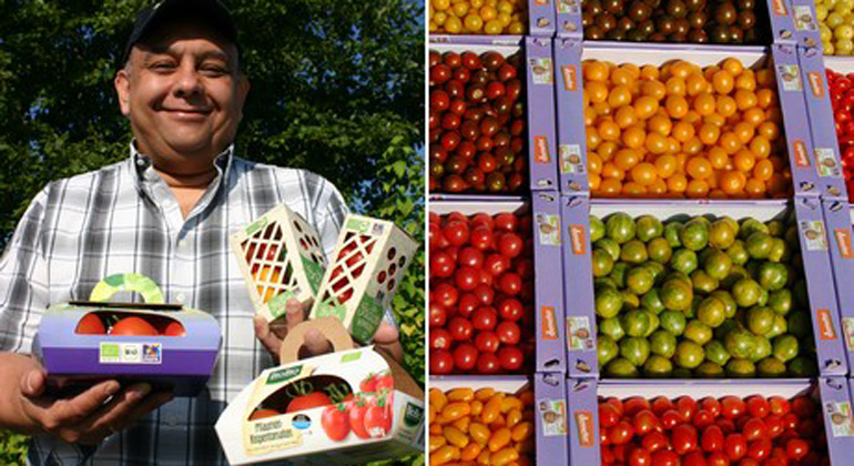 Organic fruits and vegetables in supermarkets need not be packed – certainly not in plastic!