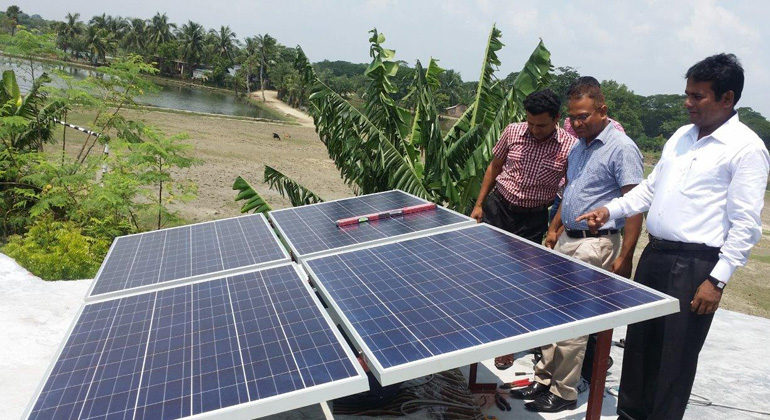 Astronergy equips 8,500 post offices in Bangladesh with solar modules