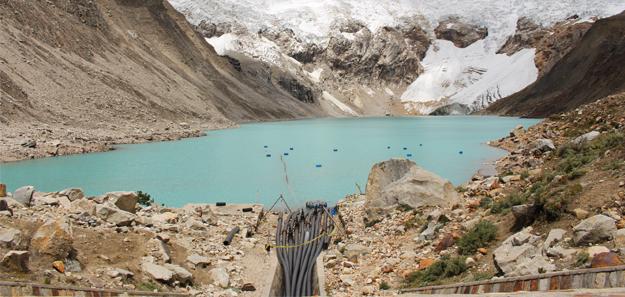 germanwatch.org | Der Andenstadt Huaraz (Peru) droht eine Flutkatastrophe. Ursache ist die klimawandelbedingte Gletscherschmelze.