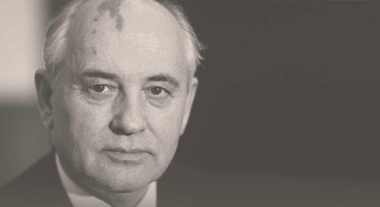 """Gorbatschow: """"Triumpf der moralischen Revolution"""""""