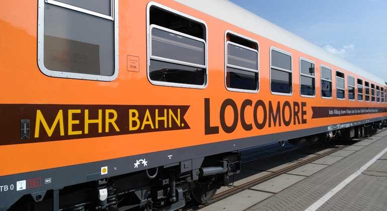 Locomore: Crowdfunding-Zug fährt mit Ökostrom