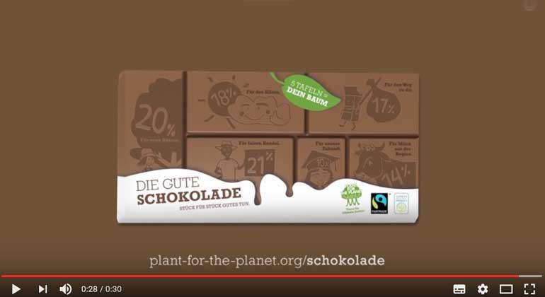 Mit Schokolade die Welt retten