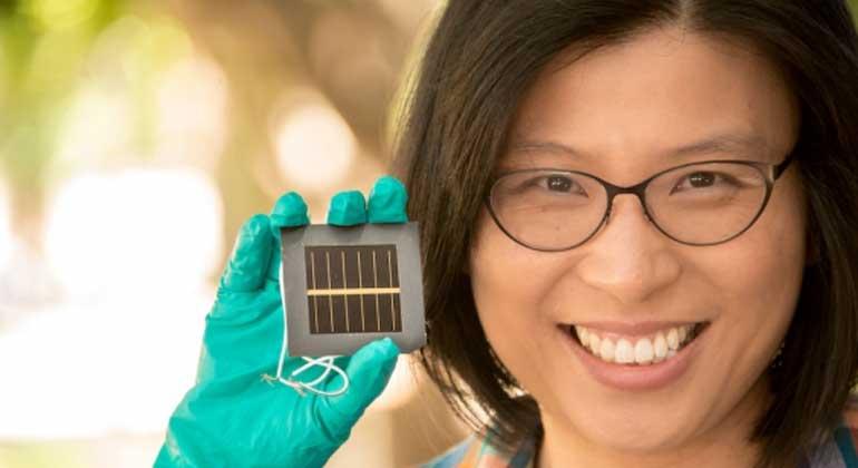 Trendy solar cells hit new world efficiency record