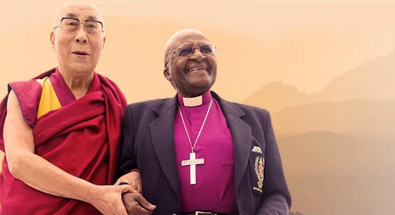 tutu.org.za | Tenzin Gyatso, Seine Heiligkeit der 14. Dalai Lama und Desmond Mpilo Tutu