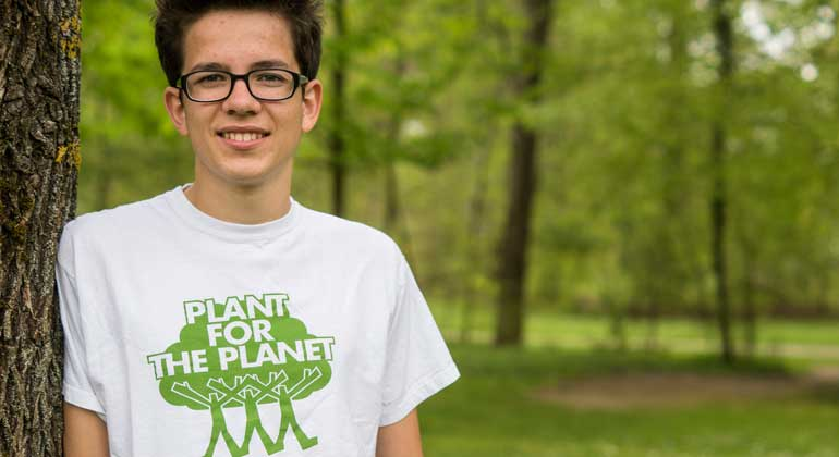 David Bolley / Plant-for-the-Planet | Felix Finkbeiner