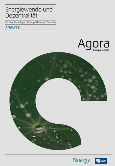 agora-energiewende.de | Energiewende und Dezentralität - Zu den Grundlagen einer politisierten Debatte