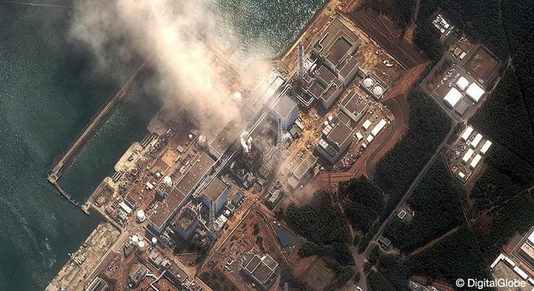 Tepco   digitalglobe   Fukushima