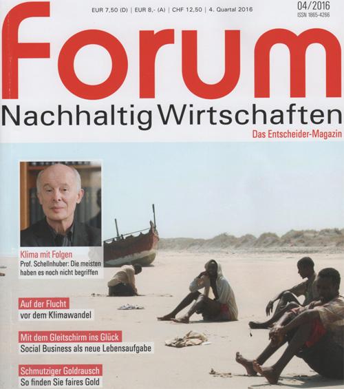 forum Nachhaltig Wirtschaften 04/2016