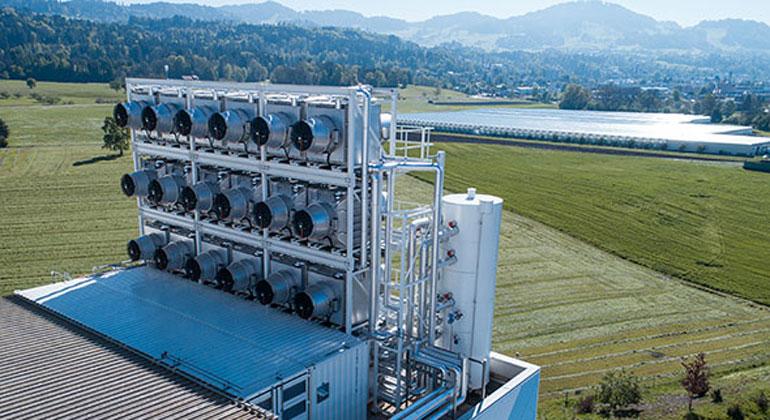 Climeworks | Julia Dunlop | Erste kommerzielle CO2-Filteranlage in der Schweiz in Betrieb gegangen.