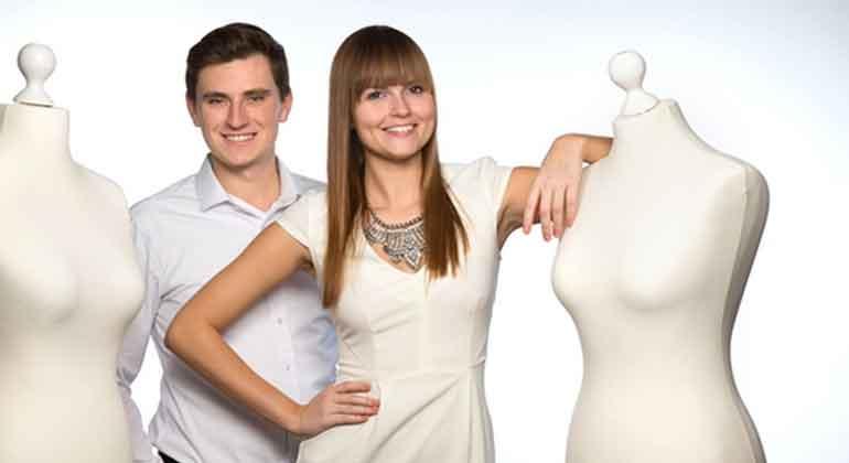 Second Life Fashion   Das Startup der zwei Studenten, Lisa Samhammer und Florian Hag, stellt für seine Kunden gleich ganze Outfits zusammen.