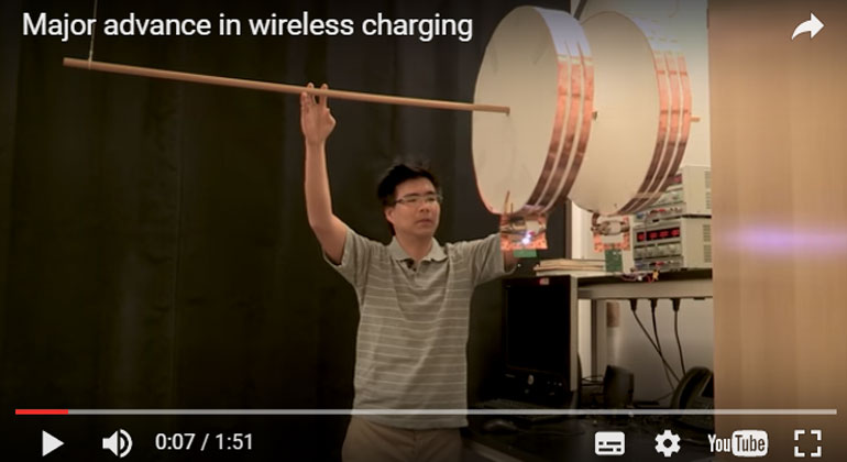 Wireless charging of moving electric vehicles overcomes major hurdle in new Stanford research