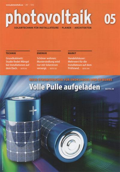 photovoltaik Heft 05-2017
