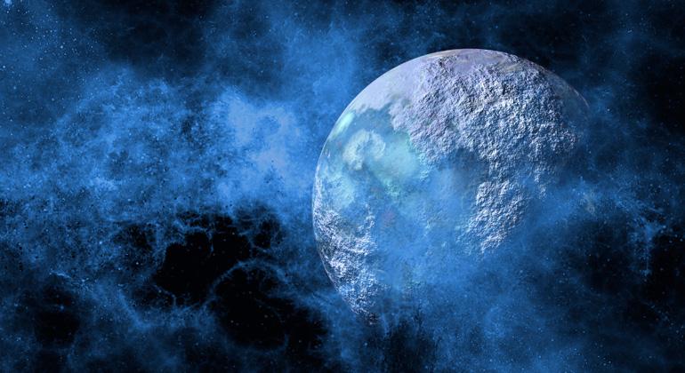 pixabay.com | geralt | Vom Weltall aus gesehen, ist die Erde kein Planet grüner Wälder, brauner Wüsten oder grauer Städte. Sie schimmert blau.