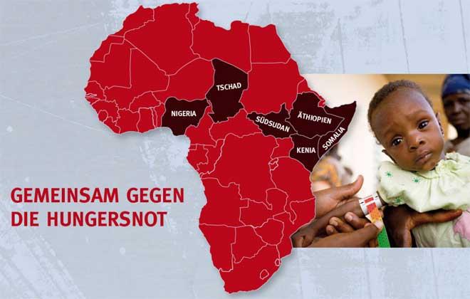 gemeinsam-fuer-afrika.de | Über 20 Millionen Menschen sind derzeit in Afrika vom Hungertod bedroht. Die Vereinten Nationen warnen vor der größten humanitären Katastrophe seit ihrer Gründung.