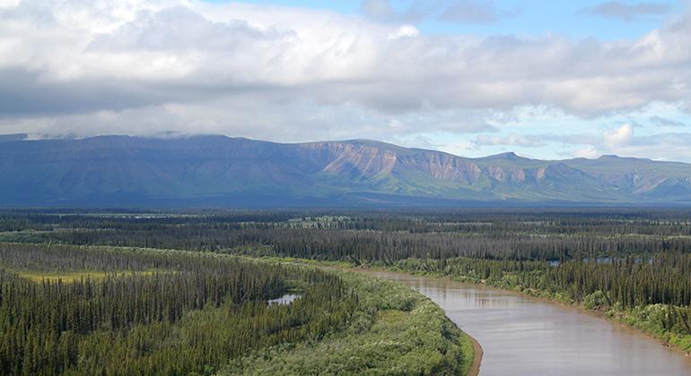 K. Kohnert | GFZ | Landscape in the Mackenzie Delta