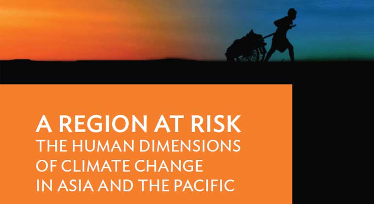Cover of the ADB report by PIK (cutout)