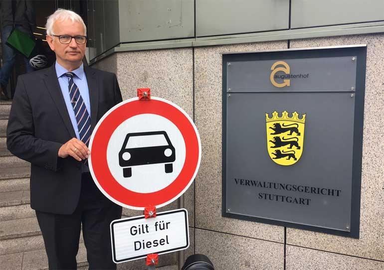 """duh.de   Nach Stuttgarter Richterspruch zu Diesel-Fahrverboten: Deutsche Umwelthilfe fordert Umsetzung eines """"Acht-Punkte-Sofortprogramms für saubere Luft"""""""