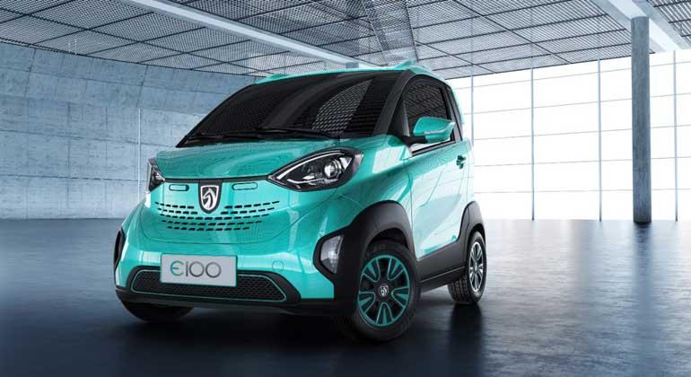 media.gmchina.com | SAIC-GM-Wuling Launches Baojun E100, Its First Electric Vehicle