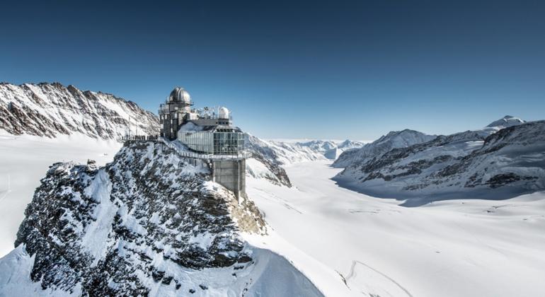 Jungfraubahnen   Jungfraujoch