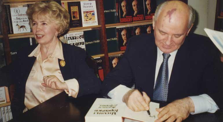 Jurij Lisunow | Raisa und Michail Gorbatschow
