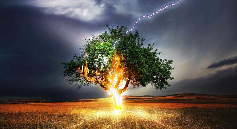 """pixabay.com   Comfreak   """"Klimawandel ist eine der größten Bedrohungen für die Gesundheit der Menschen im 21. Jahrhundert."""""""