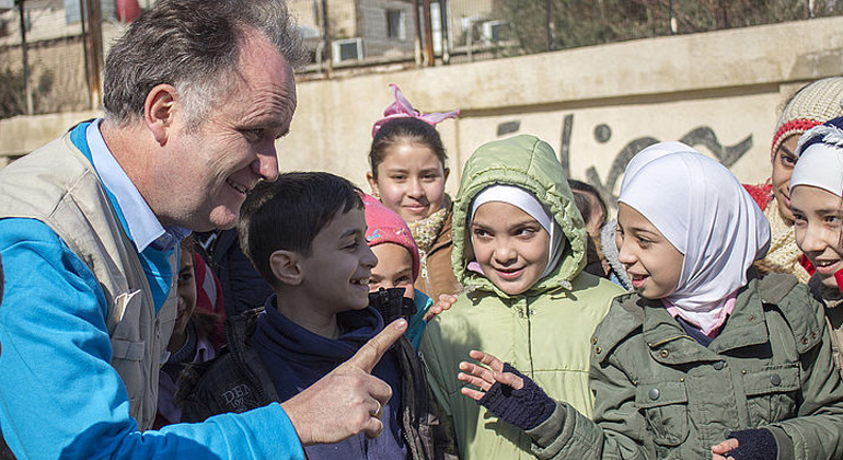 UNICEF | Der Tiroler Andreas Knapp leitet die UNICEF-Wasserprogramme in Syrien
