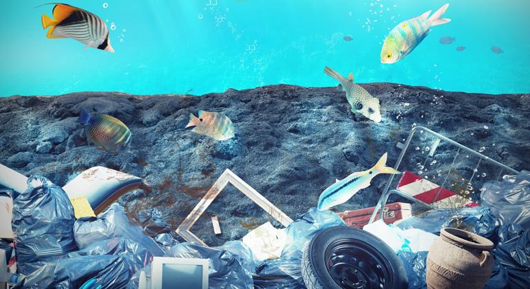Depositphotos | alphaspirit | Jedes Jahr gelangen Millionen Tonnen Plastikmüll ins Meer - ein globales Umweltproblem mit nicht abzusehenden ökologischen Folgen.