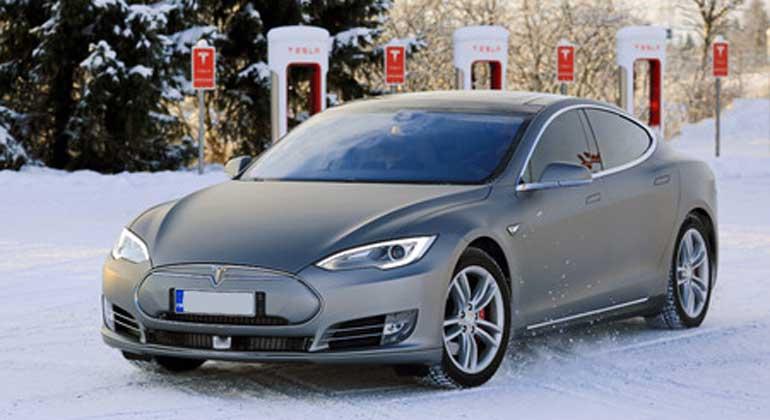 Elektrisch unterwegs bei Eis und Schnee