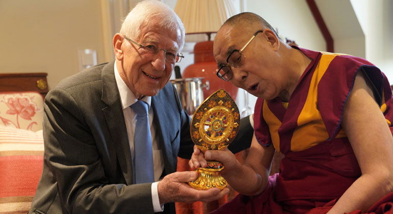 A Conversation with His Holiness the Dalai Lama
