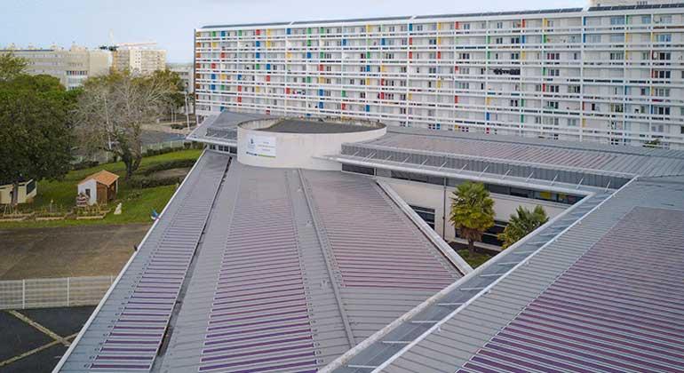 Heliatek GmbH I Olivier Benoit | BIOPV Dachinstallation in La Rochelle