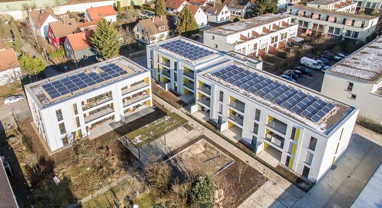 Stadtwerke Heidelberg Umwelt GmbH   Vorreiter und Weichensteller für Mieterstromprojekte - einer der Gewinner des Deutschen Solarpreises 2017 von Eurosolar.