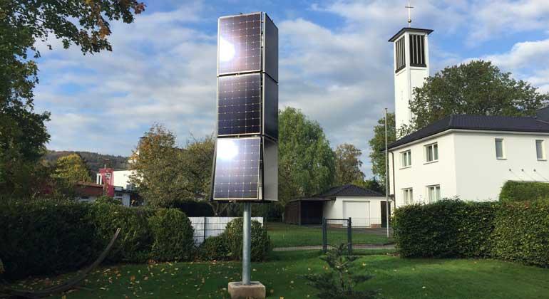 sharp.de   Der Solar-Tower ist umweltfreundlich und CO2-neutral.