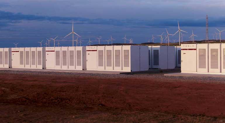 Tesla gewinnt Wette um größten Batteriepark der Welt