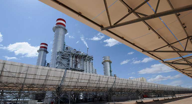 World Bank/Dana Smillie | Ain Beni Mathar Integrated Combined Cycle Thermo-Solar Power Plant.